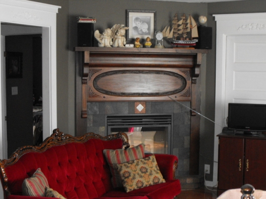 Old Flair For New Fireplace Vivid Imaginations Studio