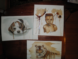 Coffee Paintings